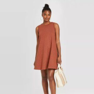 A New Day Faded Red Tank Dress